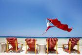 Schönen tropischen strand — Stockfoto