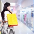 Attractive woman with shopping bags — Stock Photo #10503065
