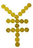 Yen işareti — Stok fotoğraf