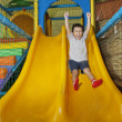 Happy boy on playground — Stok Fotoğraf #8743796