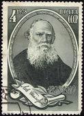 ünlü rus yazar leo tolstoy — Stok fotoğraf