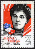Portrait Jeanne Labourbe. USSR stamp — Stock Photo