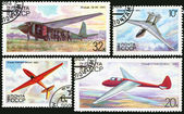 Letadla glider sssr — Stock fotografie