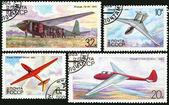 飞机滑翔机苏联 — 图库照片