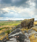 美しい山の風景、岩 — ストック写真