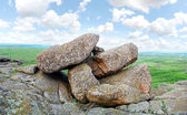 Mountain landscape, boulders — Stock Photo