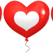 "Balloons with the words ""I love you"" — Stock Photo"