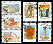 Postes afghanes 1985 — Stock Photo
