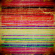 Grunge colorful striped background — Stock Photo