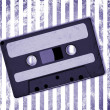 Retro Audio Cassette Tape on grunge — Stock Photo #10177666
