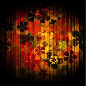 Sztuka ilustracja kwiatowy tło — Zdjęcie stockowe