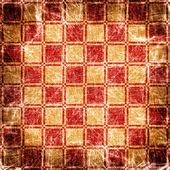 Grunge illustration of chessboard — Stock Photo