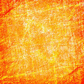 Scratched orange background — Stock Photo