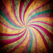 Multicolor twisted background — Stock Photo