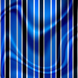 Stripes on grunge background with folds — Photo