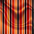 Stripes on grunge background with folds — Foto Stock