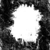 Grunge white spot on black — Stock Photo