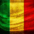 Grunge flag Mali - Stock Photo