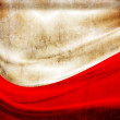 Grunge flag Poland - Stock Photo