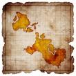 Blank pirate treasure map — Stock Photo #10588183