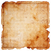 Blank pirate treasure map — Stok fotoğraf