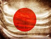 Grunge flag series - Japan — Stock Photo