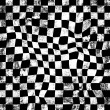 Grunge chessboard background — Stock Photo
