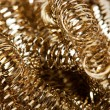 Scrap gold Shavings - Stock Photo