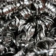 Stock Photo: Scrap Metal Shavings