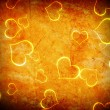 Royalty-Free Stock Photo: Glowing heart shape