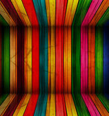 Colorful wood Background — Stock Photo