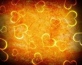 Glowing heart shape — Stock Photo