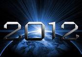2012 rok apokalypsy — Stock fotografie