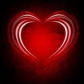 Glowing Valentine backround — Stock Photo