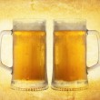 Cold beer on vintage background — Stock Photo #8273364