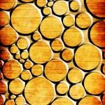 Orange dots on grunge background — Stock Photo