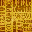 Stock Photo: Old coffee background