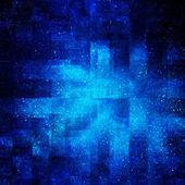 Цифровой фон пространства с звездами — Стоковое фото