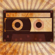 Vintage background with old tape — Stock Photo #8454380