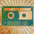Vintage background with old tape — Stock Photo #8454385