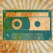 Royalty-Free Stock Photo: Vintage background with old tape