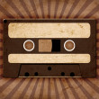 Vintage background with old tape — Stock Photo