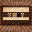 Stock Photo: Vintage background with old tape