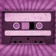 Vintage background with old tape — Stock Photo #8454396