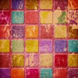 Grunge colourful squares — Stock Photo #8526637