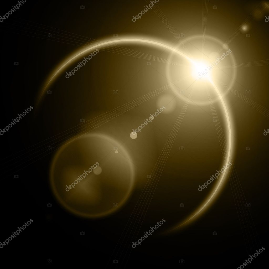 Illustration of solar eclipse — Stock Photo #8526663