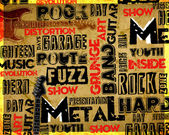 Rock Music poster — Foto de Stock