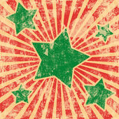 Grunge art background with stars — Stock Photo