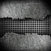 Crack metal background — Stock Photo