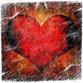 Valentine's day red background — Stockfoto